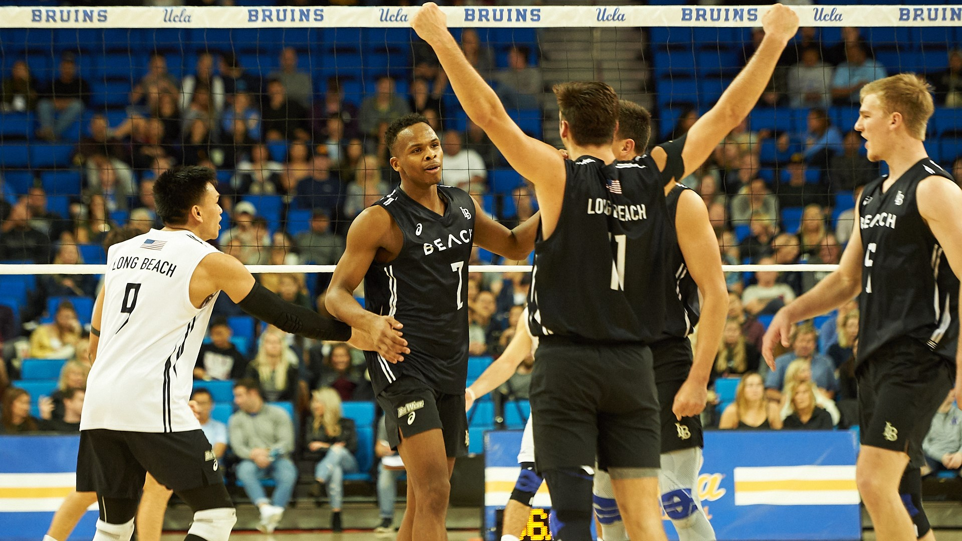 83be283146e1 Top-Ranked Long Beach State Sweeps No. 6 UCLA - Long Beach State ...